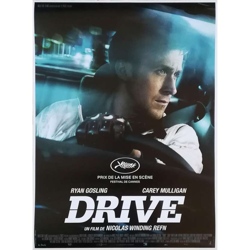 drive movie poster 15x21 in