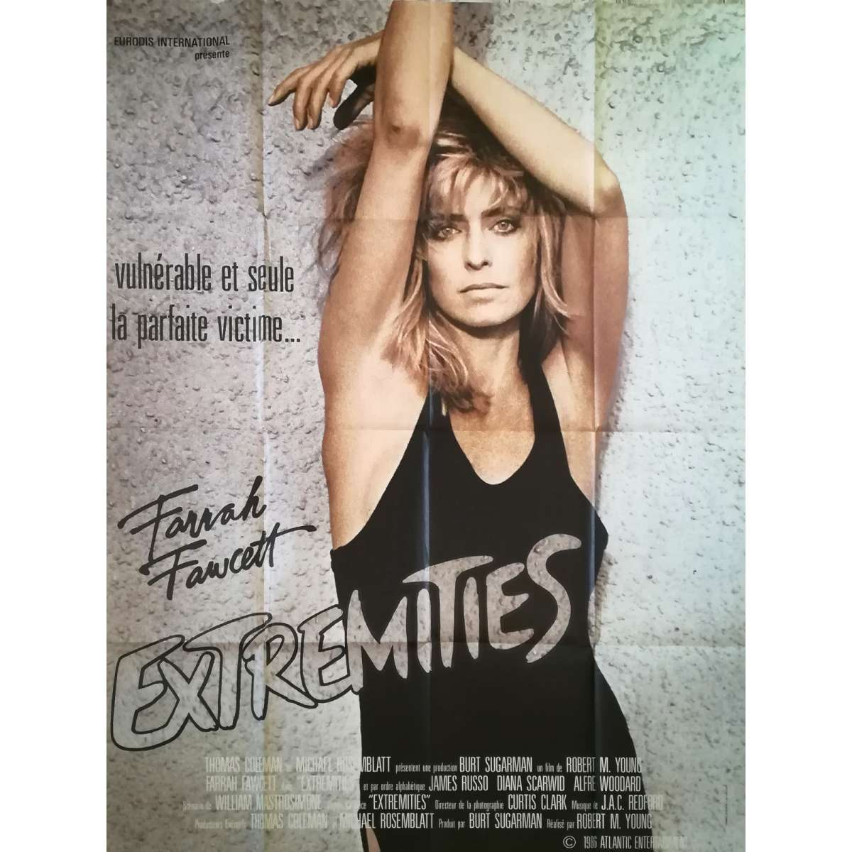 EXTREMITIES Movie Poster 47x63 in.