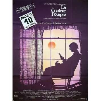 LA COULEUR POURPRE Affiche de film - 120x160 cm. - 1986 - Whoopy Goldberg, Steven Spielberg