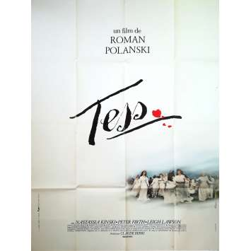 TESS Original Movie Poster - 47x63 in. - 1981 - Roman Polanski, Nastassja Kinski
