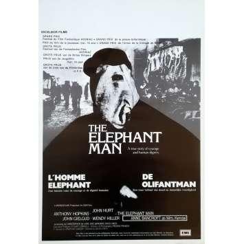 ELEPHANT MAN Affiche de film - 35x55 cm. - 1980 - John Hurt, David Lynch