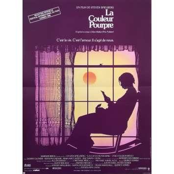 LA COULEUR POURPRE Affiche de film - 40x60 cm. - 1986 - Whoopy Goldberg, Steven Spielberg