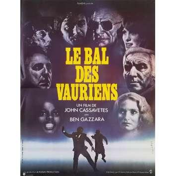LE BAL DES VAURIENS Affiche de film - 40x60 cm. - 1976 - Ben Gazzara, John Cassavetes