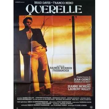 QUERELLE Affiche de film Mod A - 120x160 cm. - 1982 - Brad Davis, R. W. Fassbinder