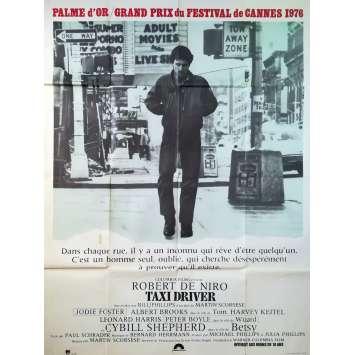 TAXI DRIVER Affiche de film - 120x160 cm. - 1976 - Robert de Niro, Martin Scorsese