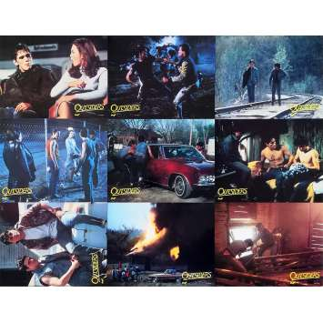 THE OUTSIDERS Original Lobby Cards x10 - 9x12 in. - 1983 - Francis Ford Coppola, Matt Dillon