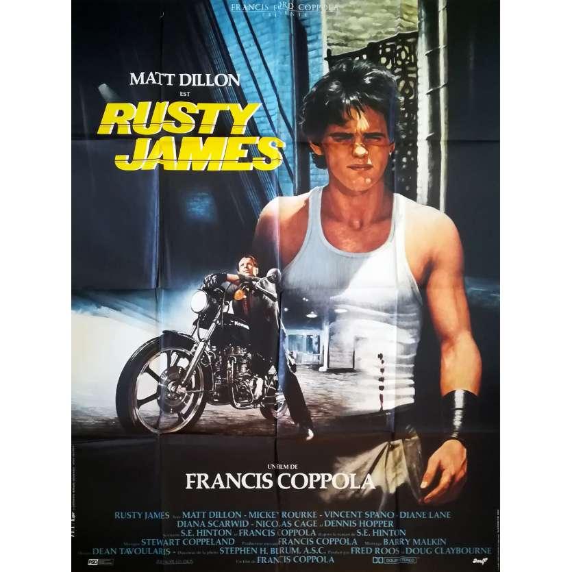 RUMBLE FISH Original Movie Poster - 47x63 in. - 1983 - Francis Ford Coppola, Matt Dillon