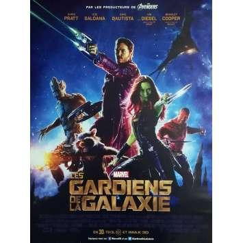 GUARDIANS OF THE GALAXY Original Movie Poster - 15x21 in. - 2014 - James Gunn, Chris Pratt
