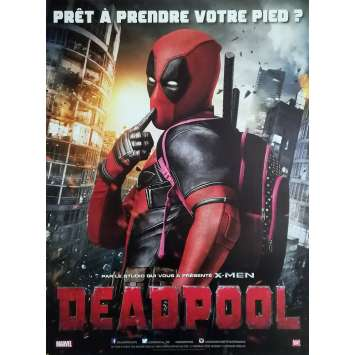 DEADPOOL Affiche de film - 40x60 cm. - 2016 - Ryan Reynolds, Tim Miller