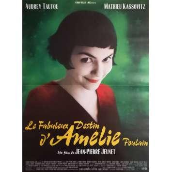 AMELIE POULAIN Affiche de film - 40x60 cm. - 2001 - Audrey Tautou, Jean-Pierre Jeunet