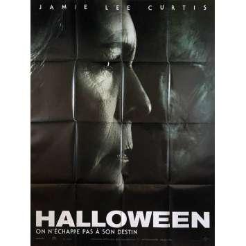 HALLOWEEN Affiche de film - 120x160 cm. - 2018 - Jamie Lee Curtis