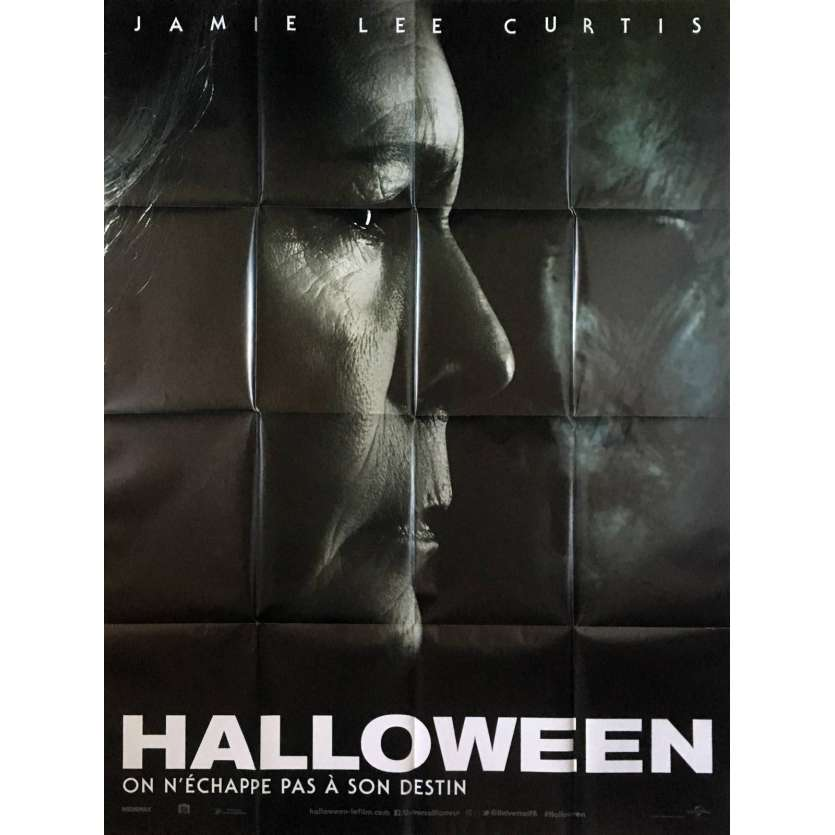 HALLOWEEN Affiche de film - 120x160 cm. - 2018 - Jamie Lee Curtis