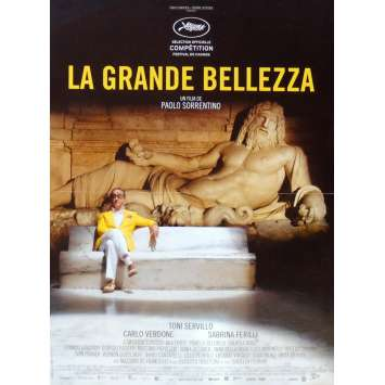 LA GRANDE BELLEZZA Affiche de film 40x60 - 2013 - Toni Servillo, Paolo Sorrentino