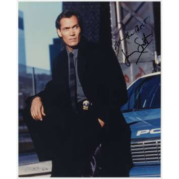 HILL STREET BLUES Photo signed by Jimmy Smits - 8x10 in. - 1981