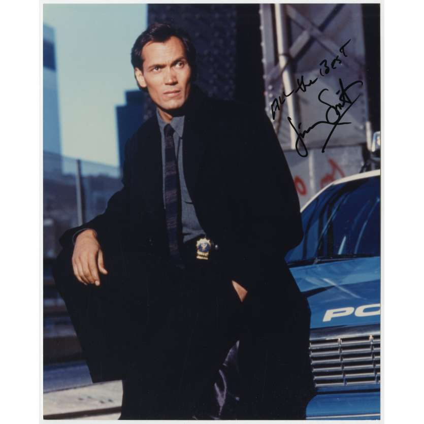CAPITAINE FURILLO Photo signée par JIMMY SMITS ! - 20x25 cm. - 1981 - Hill Street Blus