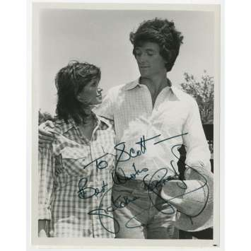 DALLAS Original TV Photo signed by Victoria Principal ! - 8x10 in. - 1978 - Pamela Ewing