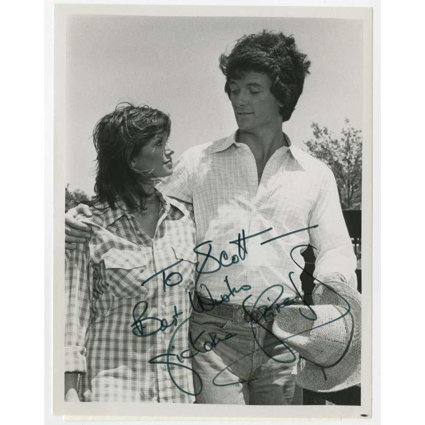 DALLAS Photo signée par VICTORIA PRINCIPAL ! - 20x25 cm. - 1978 - Pamela Barnes Ewing