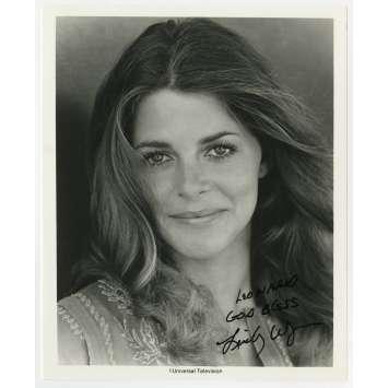 SUPER JAIMIE Photo signée par Lindsay Wagner - 20x25 cm. - 1976 - Bionic Woman