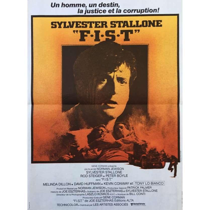 F.I.S.T. Affiche de film - 40x60 cm. - 1978 - Sylvester Stallone, Norman Jewison