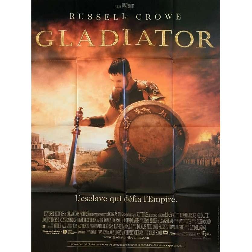 GLADIATOR Original Movie Poster - 47x63 in. - 2000 - Ridley Scott, Russel Crowe