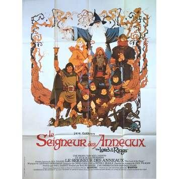 LE SEIGNEUR DES ANNEAUX Affiche de film - 120x160 cm. - 1999 - Viggo Mortensen, Peter Jackson