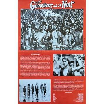 LES GUERRIERS DE LA NUIT Synopsis - 21x30 cm. - 1979 - Michael Beck, Walter Hill
