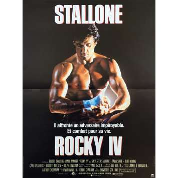 ROCKY IV 4 Affiche de film - 40x60 cm. - 1985 - Sylvester Stallone, Dolph Lundgren, Sylvester Stallone