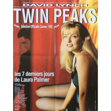 TWIN PEAKS Original Movie Poster - 23x32 in. - 1992 - David Lynch, Sheryl Lee
