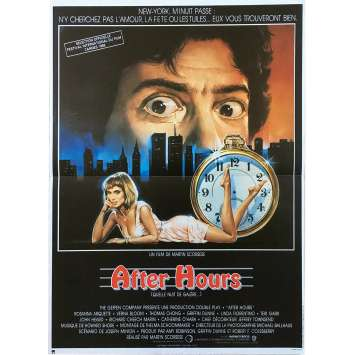 AFTER HOURS Original Movie Poster - 15x21 in. - 1985 - Martin Scorsese, Griffin Dunne