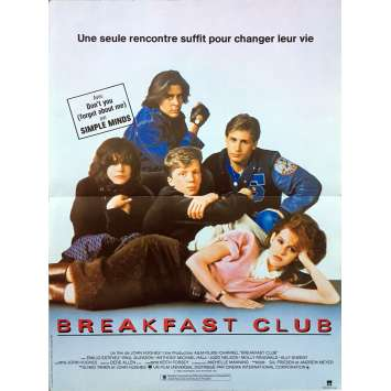 THE BREAKFAST CLUB Original Movie Poster - 15x21 in. - 1985 - John Hugues, Molly Ringwald