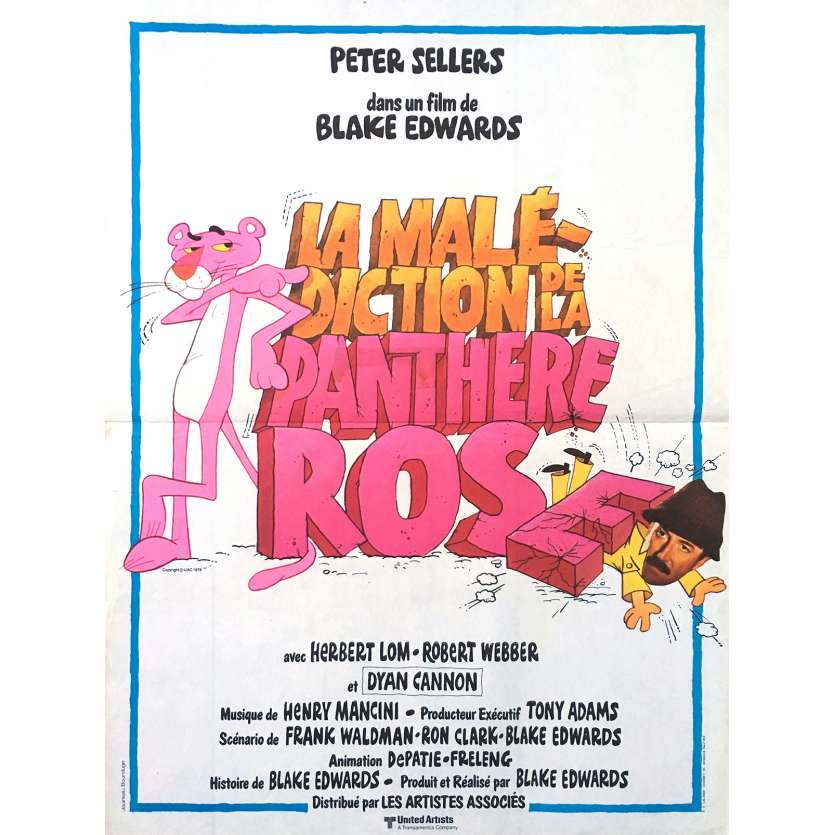 REVENGE OF THE PINK PANTHER Original Movie Poster - 15x21 in. - 1978 - Blake Edwards, Peter Sellers