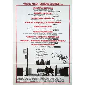 MANHATTAN Affiche de film - 80x120 cm. - 1979 - Diane Keaton, Woody Allen