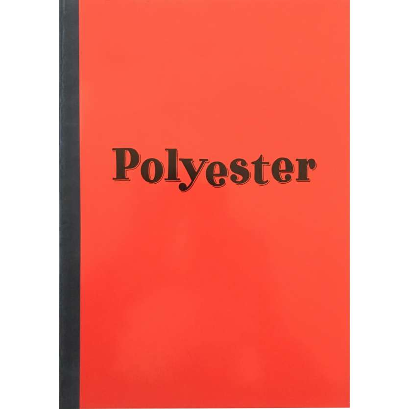 POLYESTER Original Pressbook - 9x12 in. - 1981 - John Waters, Divine