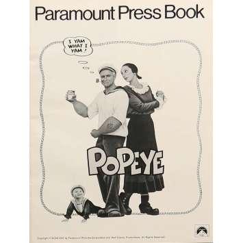 POPEYE Dossier de presse - 21x30 cm. - 1980 - Shelley Duvall, Robert Altman