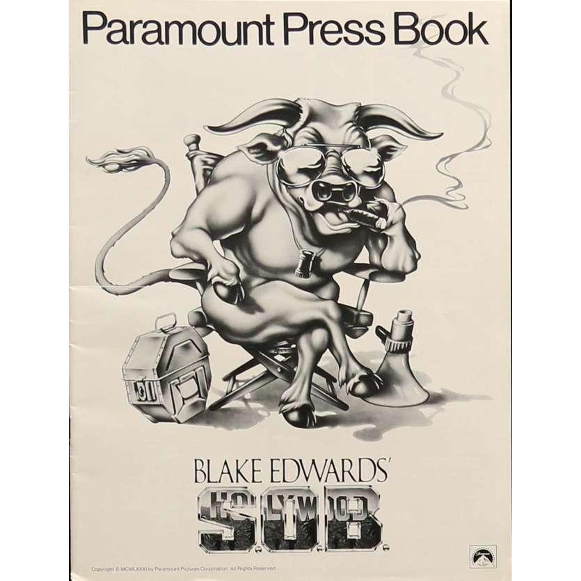 S.O.B. Dossier de presse - 21x30 cm. - 1981 - Julie Andrews, Blake Edwards