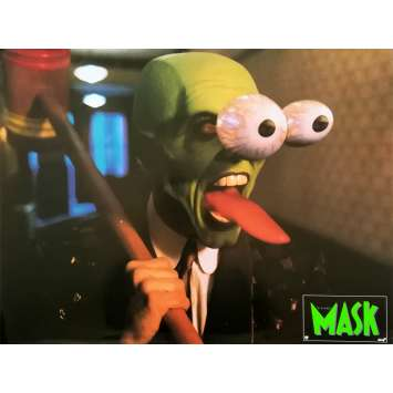 THE MASK Original Lobby Card N06 - 12x15 in. - 1994 - Chuck Russel, Jim Carrey