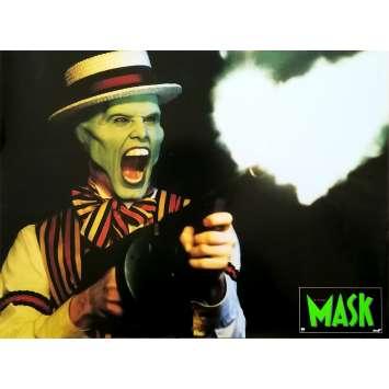 THE MASK Original Lobby Card N04 - 12x15 in. - 1994 - Chuck Russel, Jim Carrey