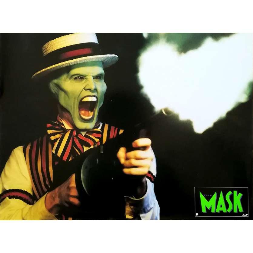 THE MASK Photo de film N04 - 30x40 cm. - 1994 - Jim Carrey, Chuck Russel