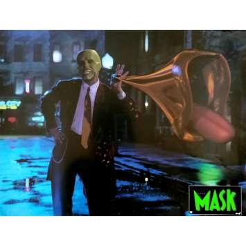 THE MASK Original Lobby Card N03 - 12x15 in. - 1994 - Chuck Russel, Jim Carrey