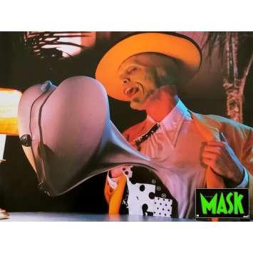 THE MASK Original Lobby Card N02 - 12x15 in. - 1994 - Chuck Russel, Jim Carrey
