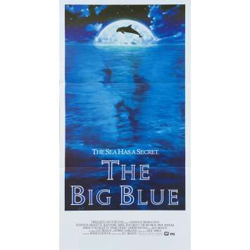 LE GRAND BLEU Affiche de film - 33x78 cm. - 1998 - Jean Reno, Luc Besson