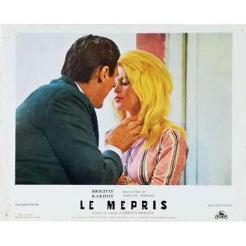 LE MEPRIS Photo de film N06 - 24x30 cm. - 1963 - Brigitte Bardot, Jean-Luc Godard