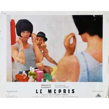 LE MEPRIS Photo de film N05 - 24x30 cm. - 1963 - Brigitte Bardot, Jean-Luc Godard