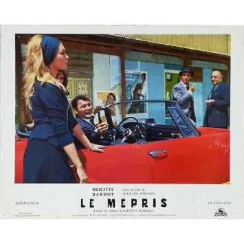LE MEPRIS Photo de film N04 - 24x30 cm. - 1963 - Brigitte Bardot, Jean-Luc Godard