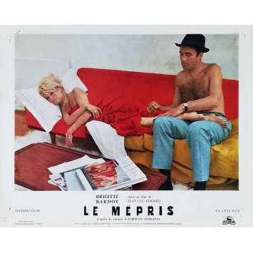 LE MEPRIS Photo de film N03 - 24x30 cm. - 1963 - Brigitte Bardot, Jean-Luc Godard