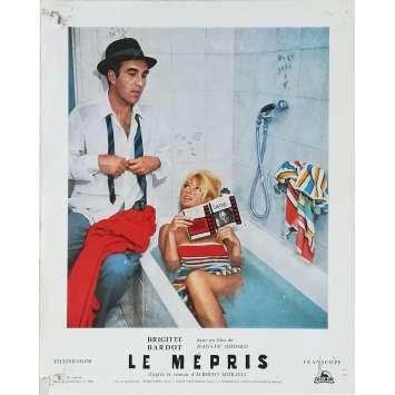 LE MEPRIS Photo de film N02 - 24x30 cm. - 1963 - Brigitte Bardot, Jean-Luc Godard
