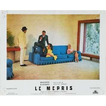 LE MEPRIS Photo de film N01 - 24x30 cm. - 1963 - Brigitte Bardot, Jean-Luc Godard