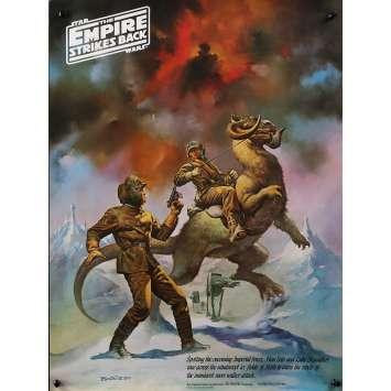 STAR WARS - L'EMPIRE CONTRE ATTAQUE Affiche de film Coca Cola Special B - 46x61 cm. - 1980 - Harrison Ford, George Lucas