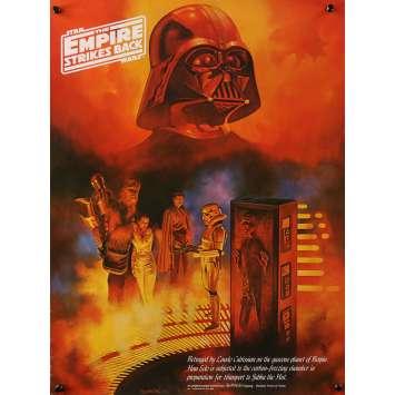 STAR WARS - L'EMPIRE CONTRE ATTAQUE Affiche de film Coca Cola Special C - 46x61 cm. - 1980 - Harrison Ford, George Lucas