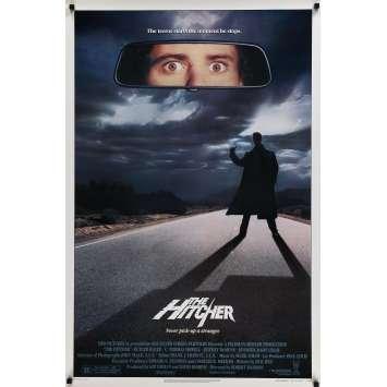 THE HITCHER Affiche de film - 69x102 cm. - 1986 - Rutger Hauer, Robert harmon